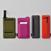 Pocketable pouch / Pen board 左から ポケッタブルポーチ・SPREAD 裏/表、ペンボード・SPREAD 裏/表