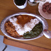 森林食堂まかないVカレー(長期成熟鶏×チキンほうれん草×キーマ)